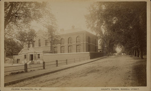 County Prison, Russell Street, Plymouth, Mass.