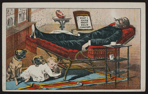 Trade card for Marks Adjustable Folding Chair, Marks Adjustable Folding Chair Co., Ltd, 930 Broadway, New York, New York, undated