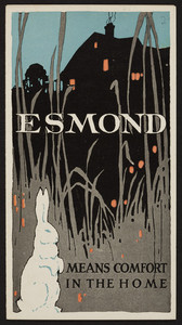 Esmond means comfort in the home, blankets, The Esmond Mills, Esmond, Rhode Island, undated
