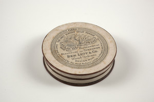Box for Lablache Face Powder, Ben. Levy & Co., French perfumers, Boston, Mass., undated