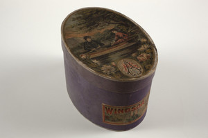 Box for Windsor Collars, Windsor Collar and Cuff Company, Windsor, Connecticut, undated