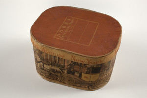 Box for Dobbs Fifth Avenue Hats, New York, New York, undated