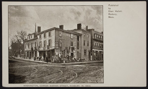 Washington, corner Warren Street, Roxbury, 1869