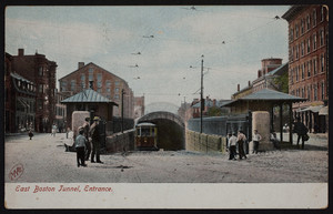 East Boston tunnel entrance