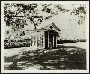 Exterior view of the Garden House, Roseland Cottage, Woodstock, Connecticut, undated