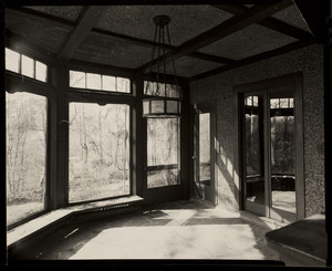 Interior view of John Olmsted House, 99 Warren Street, Brookline, Mass., February, 1997