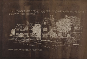 Mary Arden Cottage (Wilmcote), Shakespeare Memorial Vil., 1916