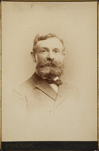 Head-and-shoulders portrait of Samuel Encleth Fowler, facing front, Parkinson, 29 West 26th Street, New York, New York, undated
