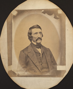Half-length portrait of unidentified Fowler relation, location unknown, undated