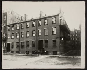 Exterior view of Infants Hospital, Blossom Street, Boston, Mass., March 12, 1913