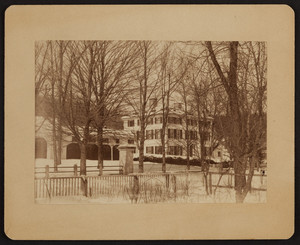 Exterior view of the Barrett House, New Ipswich, New Hampshire, undated