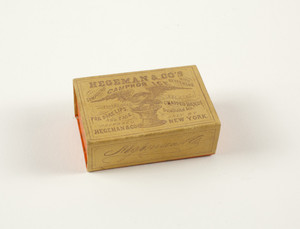 Box for Hegeman & Company's Compound Camphor Ice with glycerine, Hegeman & Company, New York, New York, undated
