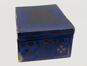 Box for John Anderson & Co.'s Solace Tobacco, No. 114 Liberty Street, New York, New York, undated