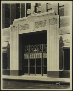 Exterior view of the United Shoe Machinery Company building, 160 Federal Street, Boston, Mass., April 6, 1930
