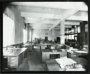 Interior view of Lever Brothers, general office, 164-190 Broadway, Cambridge, Mass., undated