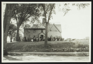 Balch family reunion, John Balch House, Beverly, Mass., August 23, 1923