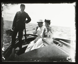 El and Bessie P on Morsa, Manchester, Mass., 1890