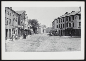 Market Square and Water Street, Newburyport, Mass., undated