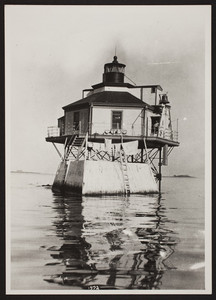 Exterior view of Bug Light, Boston Harbor, Boston, Mass., undated