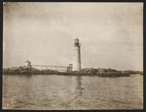 Exterior view of Graves Light, Boston Harbor, Boston, Mass., undated