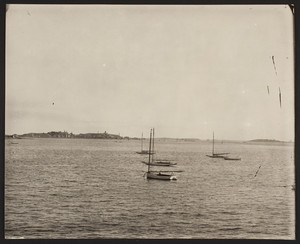 View of Deer Island and Long Island, Boston Harbor, Boston, Mass., undated