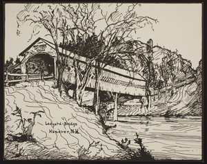 Ledyard Bridge, Hanover, New Hampshire, ca. 1935