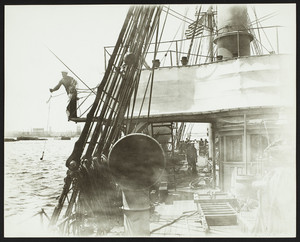 View of East Boston from U.S.S. Ranger, Boston, Mass., undated