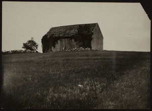 Barn on Choate Island, Essex River, Essex, Mass., undated