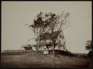 Exterior view of Rufus Choate birthplace, Choate Island, Essex, Mass., undated