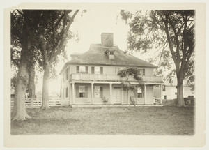 Exterior view of the Casey Farm House, Saunderstown, R.I., July 13, 1925