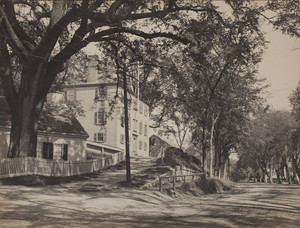 Exterior view of the Old Derby Academy, 34 Main Street, Hingham, Mass., undated