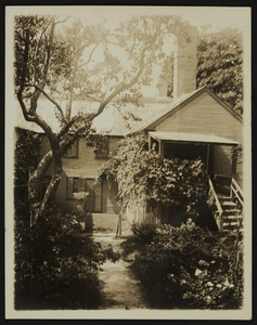 Exterior view of rear 6 Court Street, Plymouth, Mass., undated