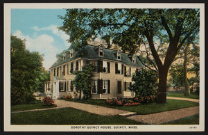 Dorothy Quincy House, Quincy, Mass., dated December 30, 1932