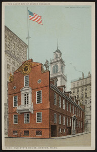 Old State House, Boston, Mass., Detroit Publishing Co., Detroit, Michigan, undated