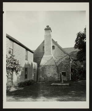 Exterior view of Spencer-Peirce-Little Farm House, Newbury, Mass., undated