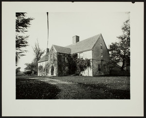 Exterior view of the Spencer-Peirce-Little Farm House, Newbury, Mass., undated