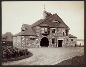 Exterior view of the John Bremer House, Smith's Point, Manchester, Mass., 1888-1892