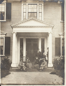 Group portrait of Codman Family members, Codman House, Lincoln, Mass.