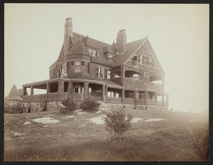 Exterior view of the John Bremer House, Smith's Point, Manchester, Mass., undated