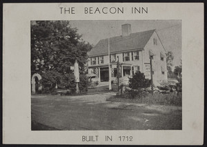 Brochure for The Beacon Inn, Western Avenue and Shipyard Lane, Essex, Mass., undated