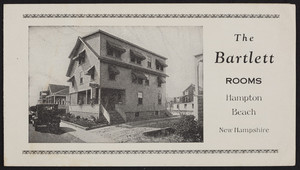 Brochure for The Bartlett, 10 F Street, Hampton Beach, New Hampshire, undated