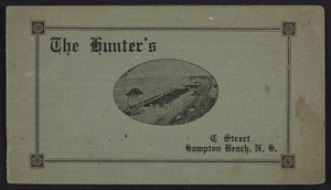 Brochure for The Hunter's, C Street, Hampton Beach, New Hampshire, undated
