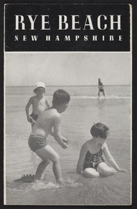 Brochure for Rye Beach, New Hampshire, Rye Beach Precinct Commission, undated