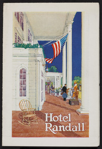Brochure for the Hotel Randall, North Conway, New Hampshire, 1920s