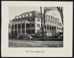 Clipping for The True Temper Inn, Wallingford, Vermont, undated