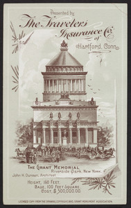Trade cards for The Travelers Insurance Company of Hartford, Connecticut, 1890