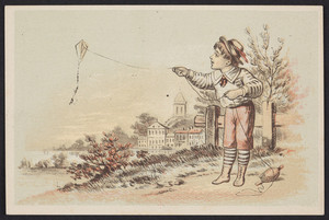 Trade card for The Universal Wringer, location unknown, undated