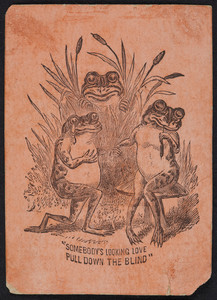 Trade card for unidentified dentist, location unknown, undated