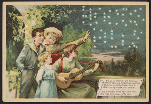 Trade card for Hood's Vegetable Pills, C.I. Hood & Co., Lowell, Mass., undated