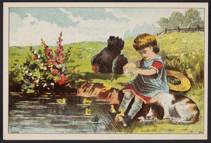 Trade card for Dr. Hartshorn's Cough Balsam, E. Hartshorn & Sons, proprietors, Boston, Mass., undated